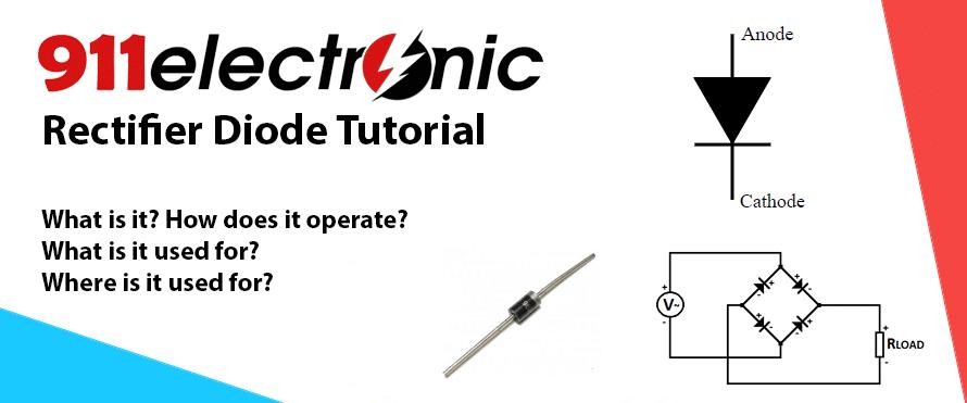 Rectifier diode tutorial