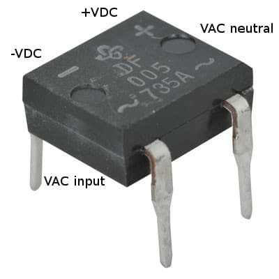 full bridge rectifier ic