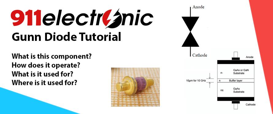 Gunn Diode tutorial