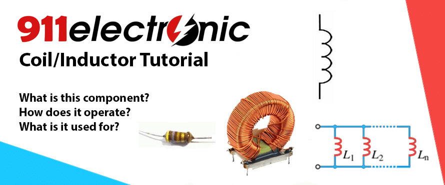 coil inductor basics, definition and parameters types of inductors connect an inductor and capacitor