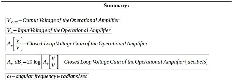 active filters summary 5