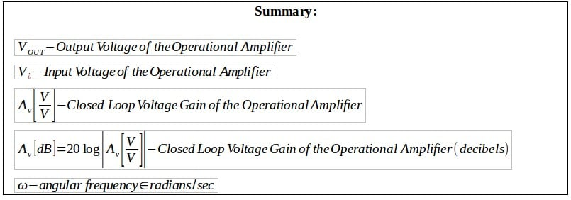 active filters summary 6