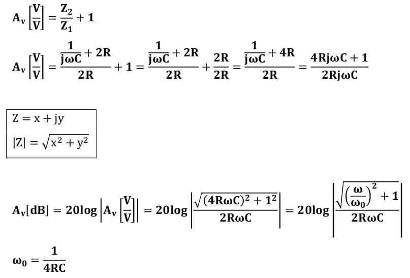 active filters task formulas 11