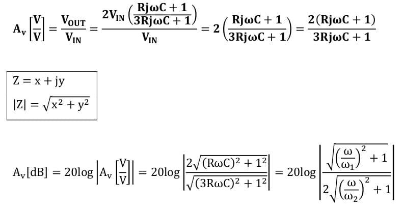 active filters task formulas 23