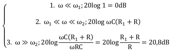 active filters task formulas 45