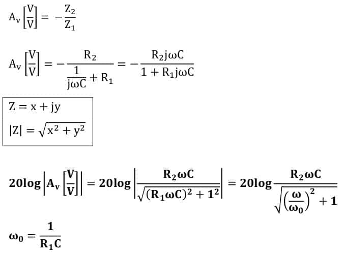active filters task formulas 61