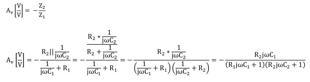 active filters task formulas 71