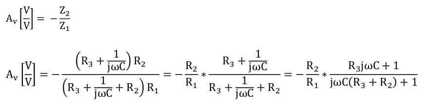active filters task formulas 81