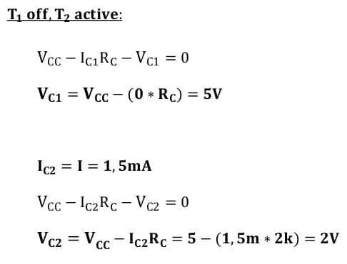 differential amplifiers task formulas 11