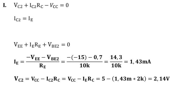 differential amplifiers task formulas 13