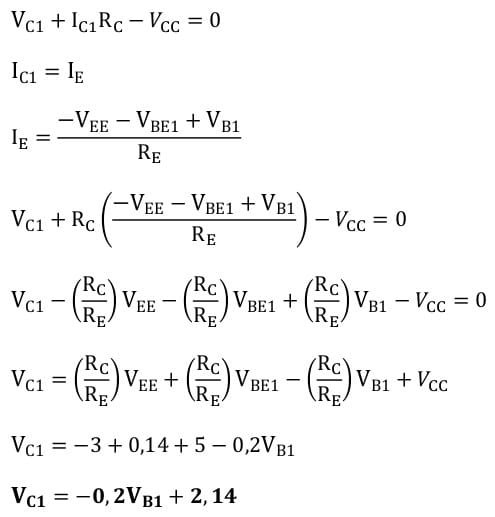 differential amplifiers task formulas 15