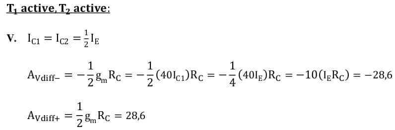 differential amplifiers task formulas 17