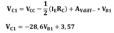 differential amplifiers task formulas 18