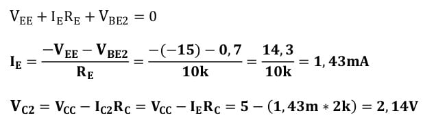 differential amplifiers task formulas 22