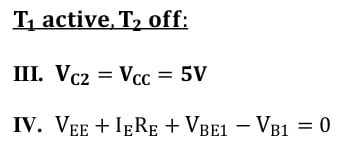 differential amplifiers task formulas 23