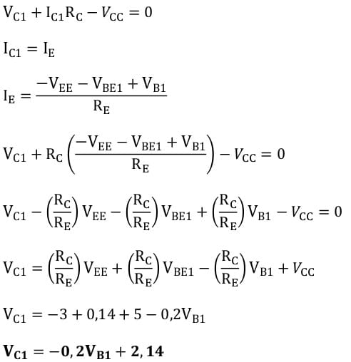 differential amplifiers task formulas 24