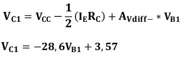 differential amplifiers task formulas 28