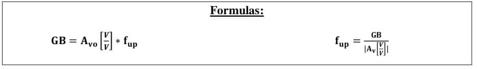 operational amplifier formulas 21