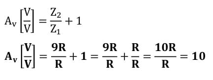 operational amplifier task formulas 31