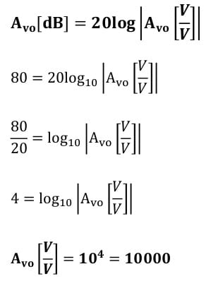 operational amplifier task formulas 41