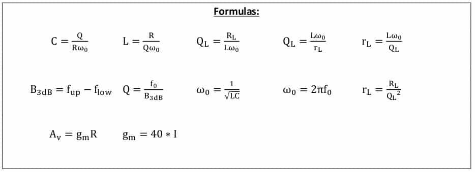 selective amplifier formulas 4