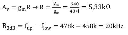selective amplifier task formulas 11