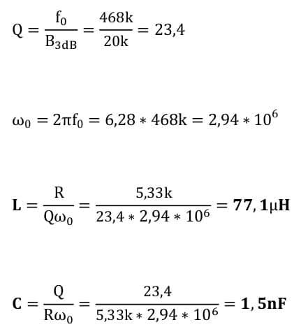 selective amplifier task formulas 12