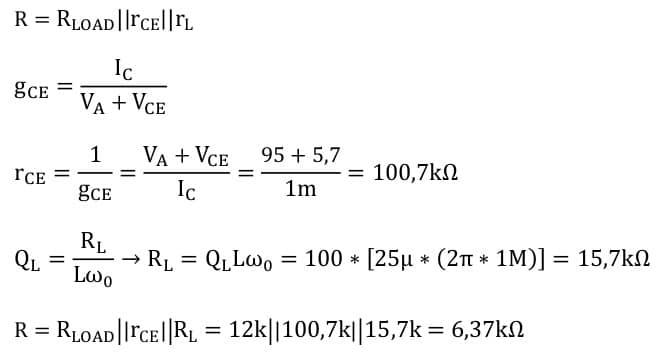 selective amplifier task formulas 25