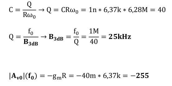 selective amplifier task formulas 26