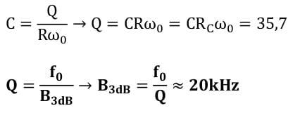 selective amplifier task formulas 33