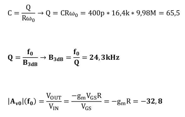 selective amplifier task formulas 46
