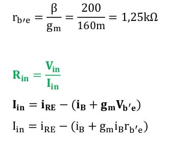 small signal amplifier task formulas 103