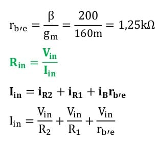 small signal amplifier task formulas 11