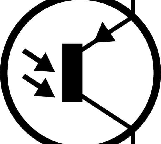 electronic_phototransistor_pnp_circuit_symbol