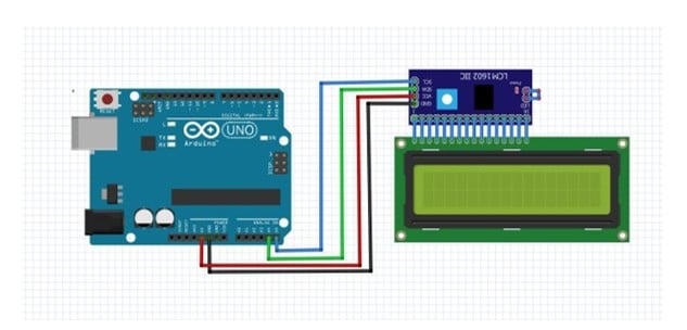 I2C arduino connection