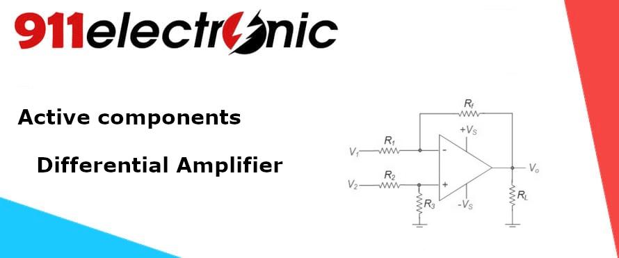 Differential amp logo