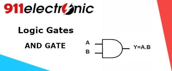 Logic Gate AND GATE logo