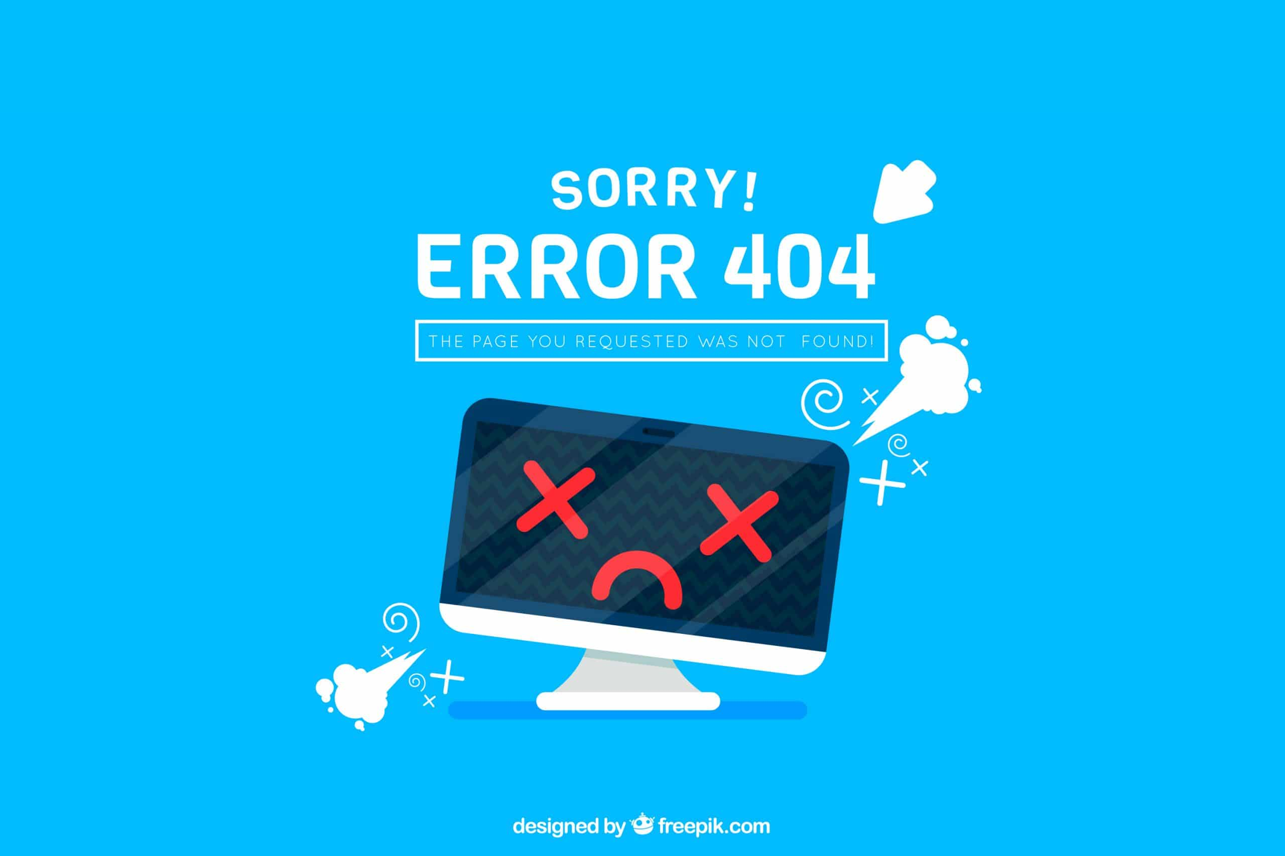 911electronic 404 page